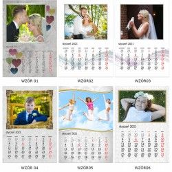 Kalendarz 2022 - A3 30x40 cm