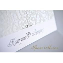 Zawieszki ślubne perłowe - Sposa Glitter